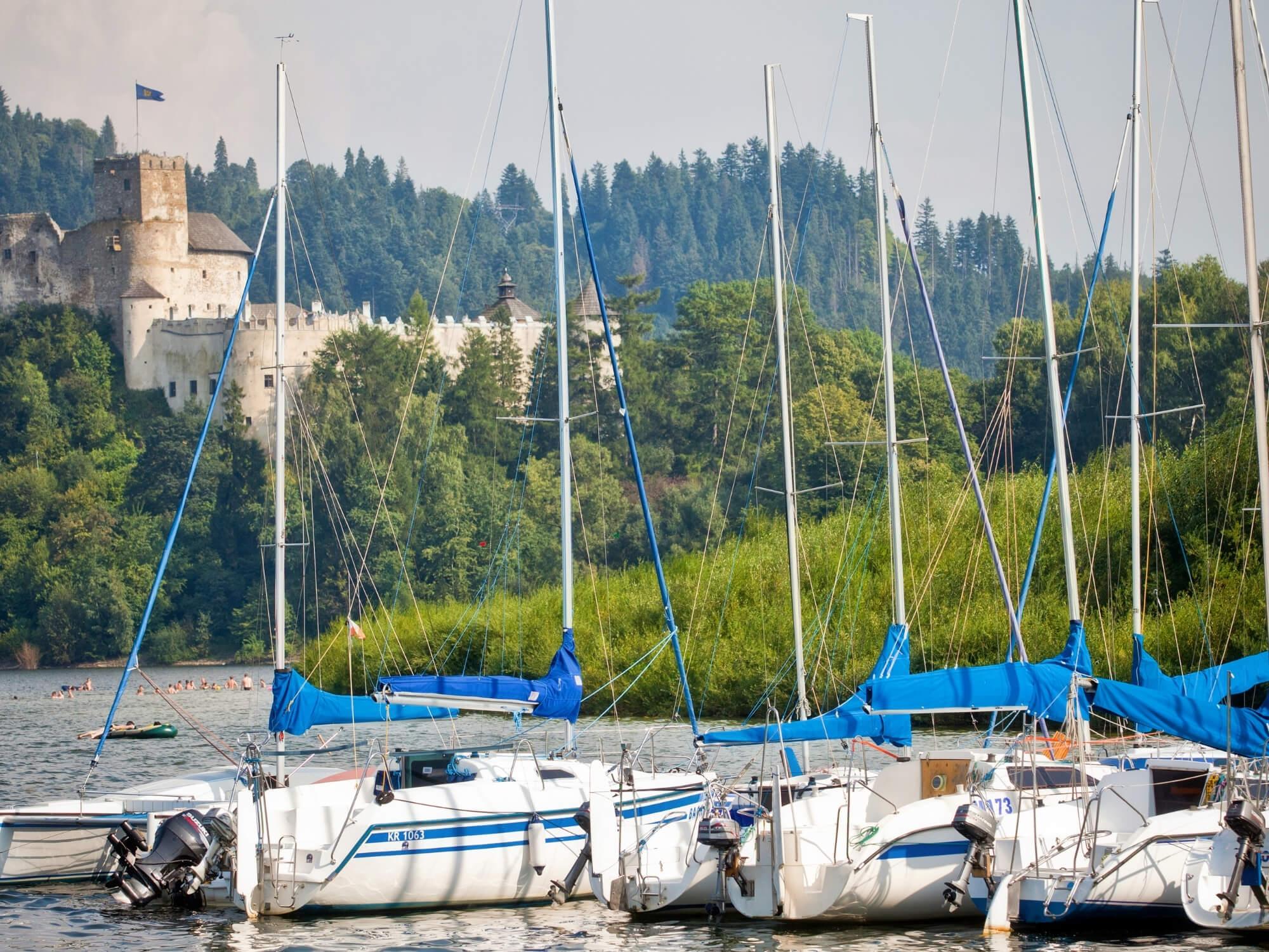 Niedzica - Jezioro Czorsztyńskie